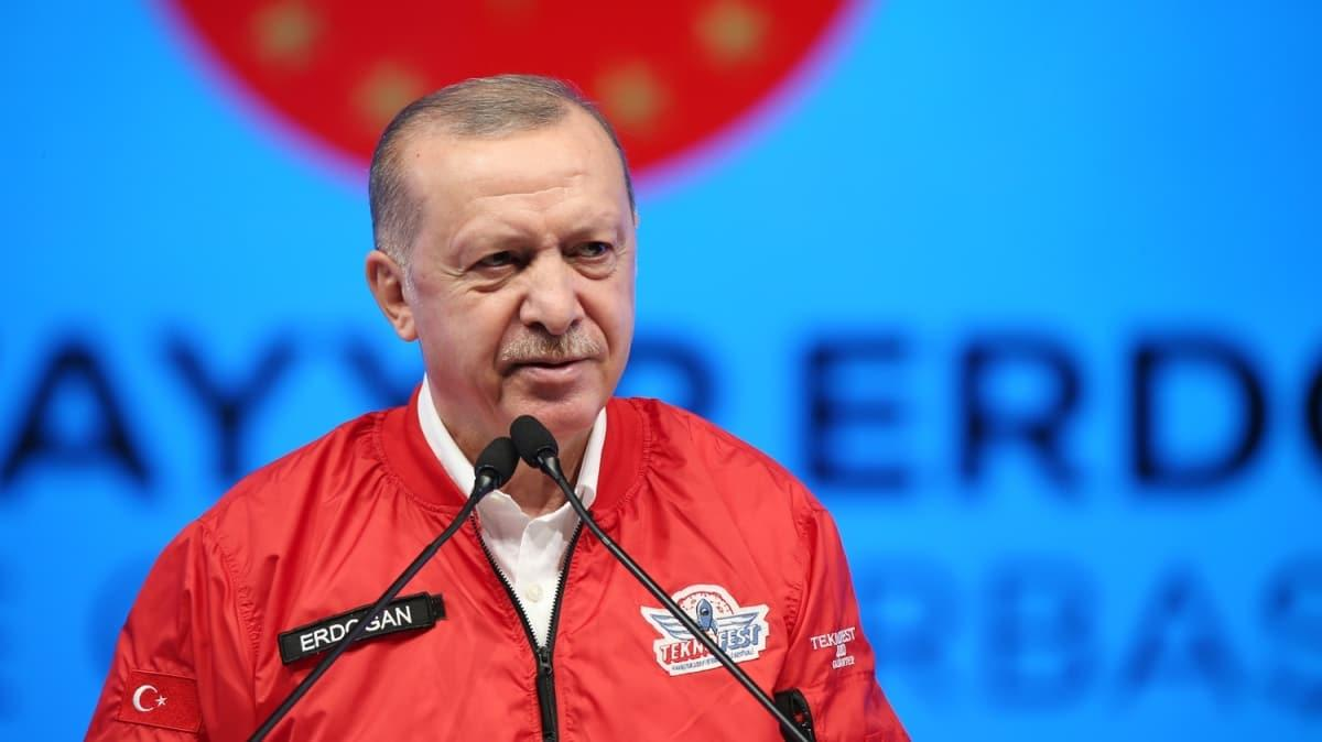Başkan Erdoğan: İHA'lardaki başarıyı otomobilde ve uçan arabalarda da yakalayacağız