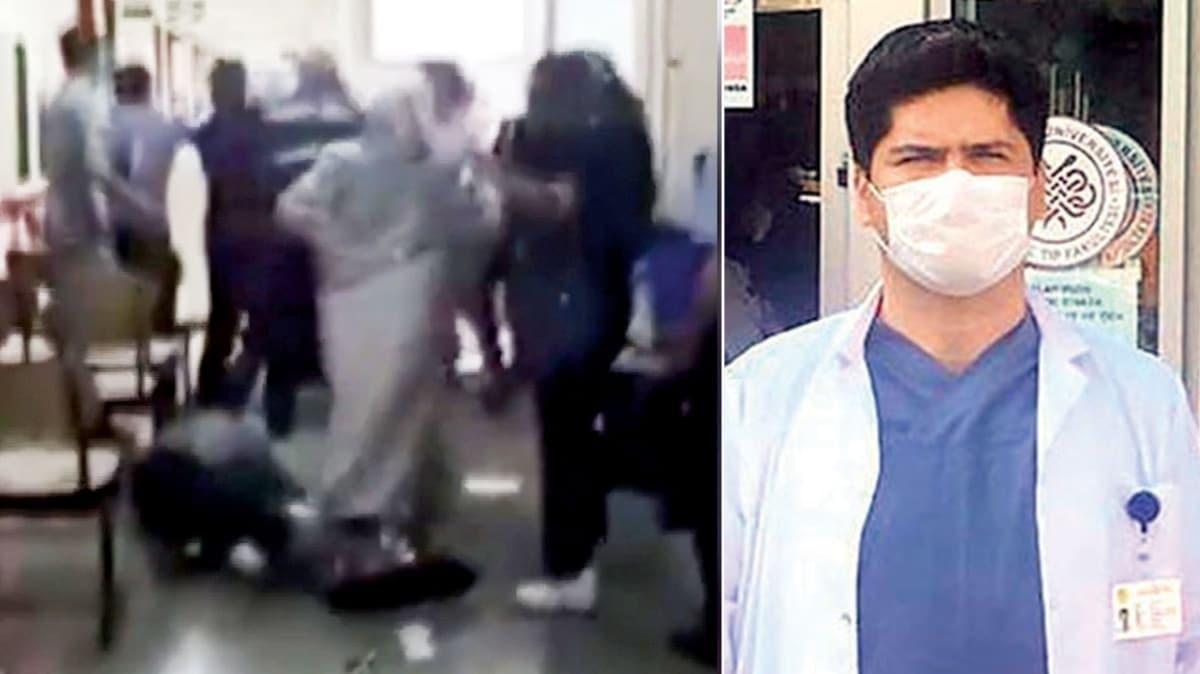 Sağlık çalışanına yine saldırdılar!
