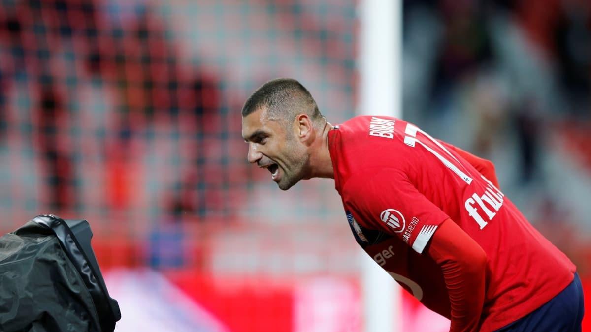 Burak attı, Lille kazandı