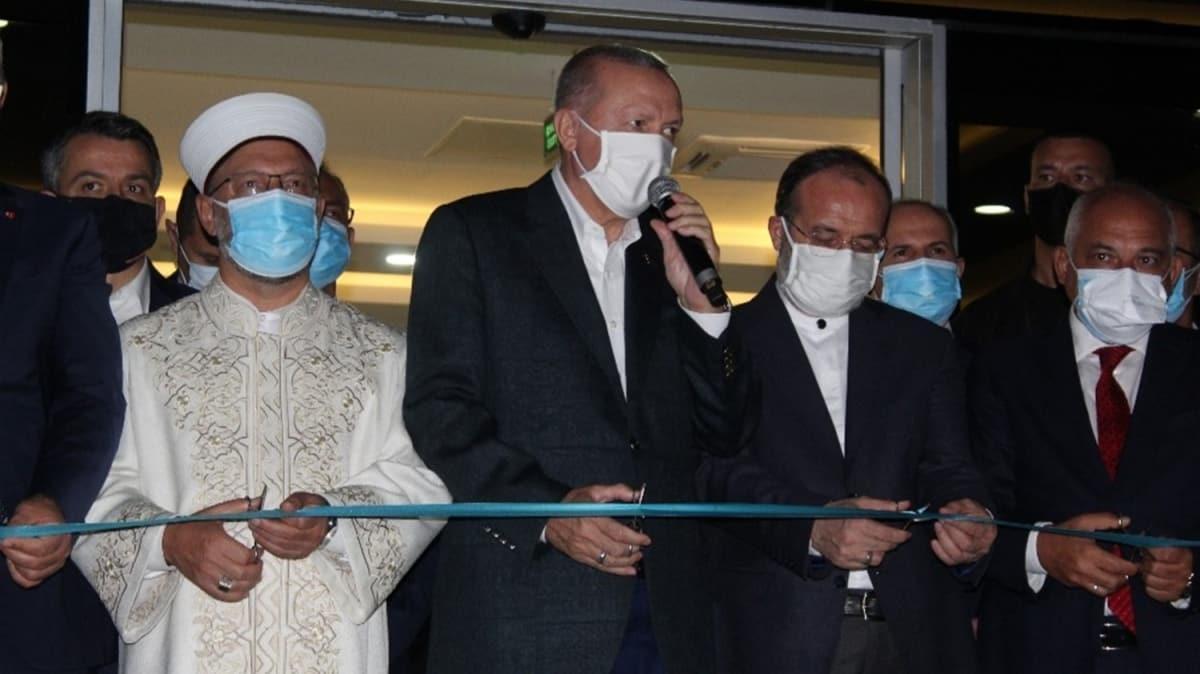 Başkan Erdoğan, Gaziantep Hacı Ahmet Ziylan Eğitim Merkezi Müdürlüğünün açılışını gerçekleştirdi