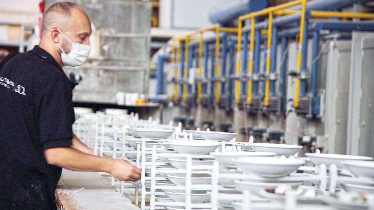 72 ülkede sofralarda Türk porseleni var