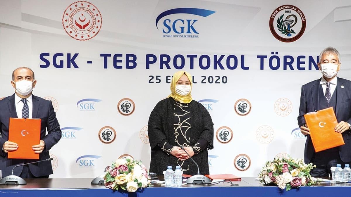 SGK ve TEB protokolü 4 yıl uzattı! Eczanelere yıllık 235 milyon TL iyileşme