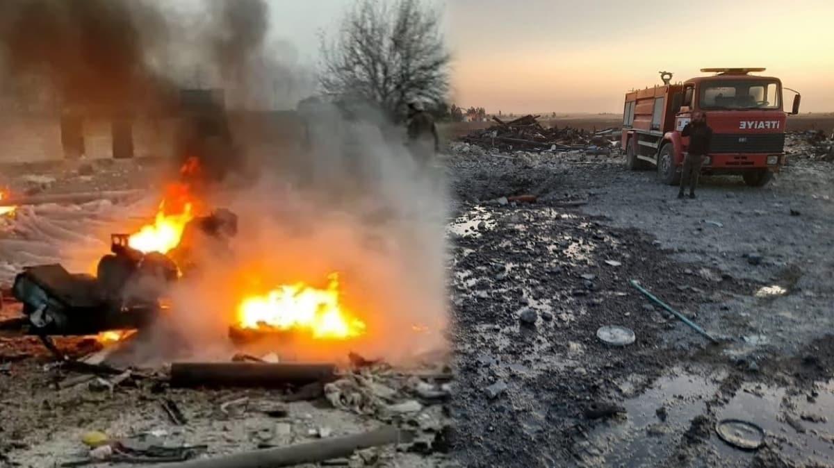 Rasulayn'da bombalı terör saldırısı