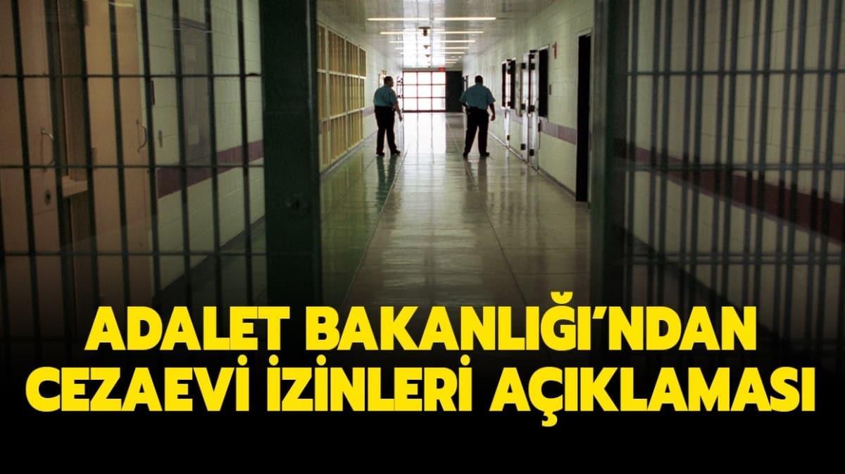 """Adalet Bakanlığı cezaevi izinleri açıklaması: Açık cezaevi izinleri uzatıldı mı"""""""
