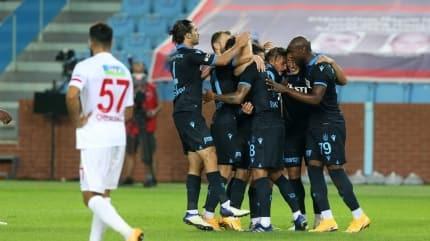 Trabzonspor'da 5 maçlık hasret sona erdi