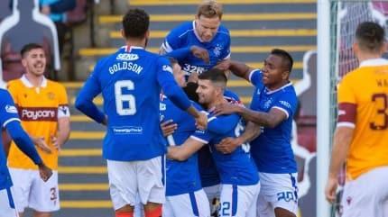 Rangers'tan Galatasaray maçı öncesi 5 gollü galibiyet