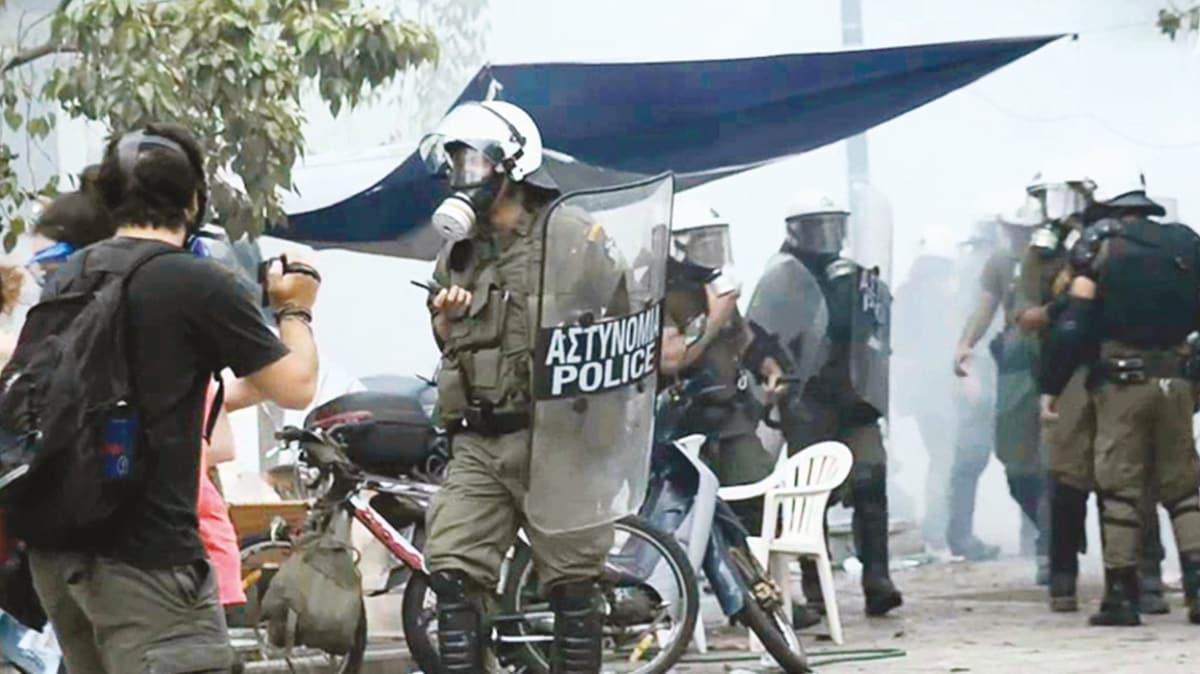 DHKP-C Yunanistan polisiyle çatıştı