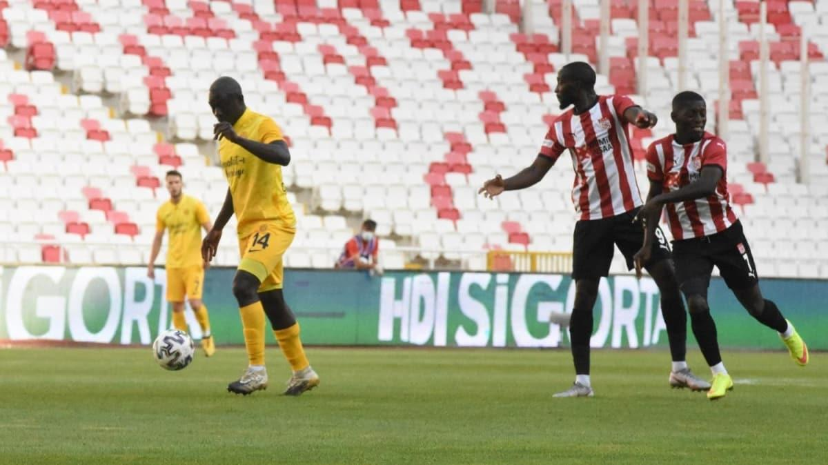 Sivas'ta gol sesi yok: 0-0