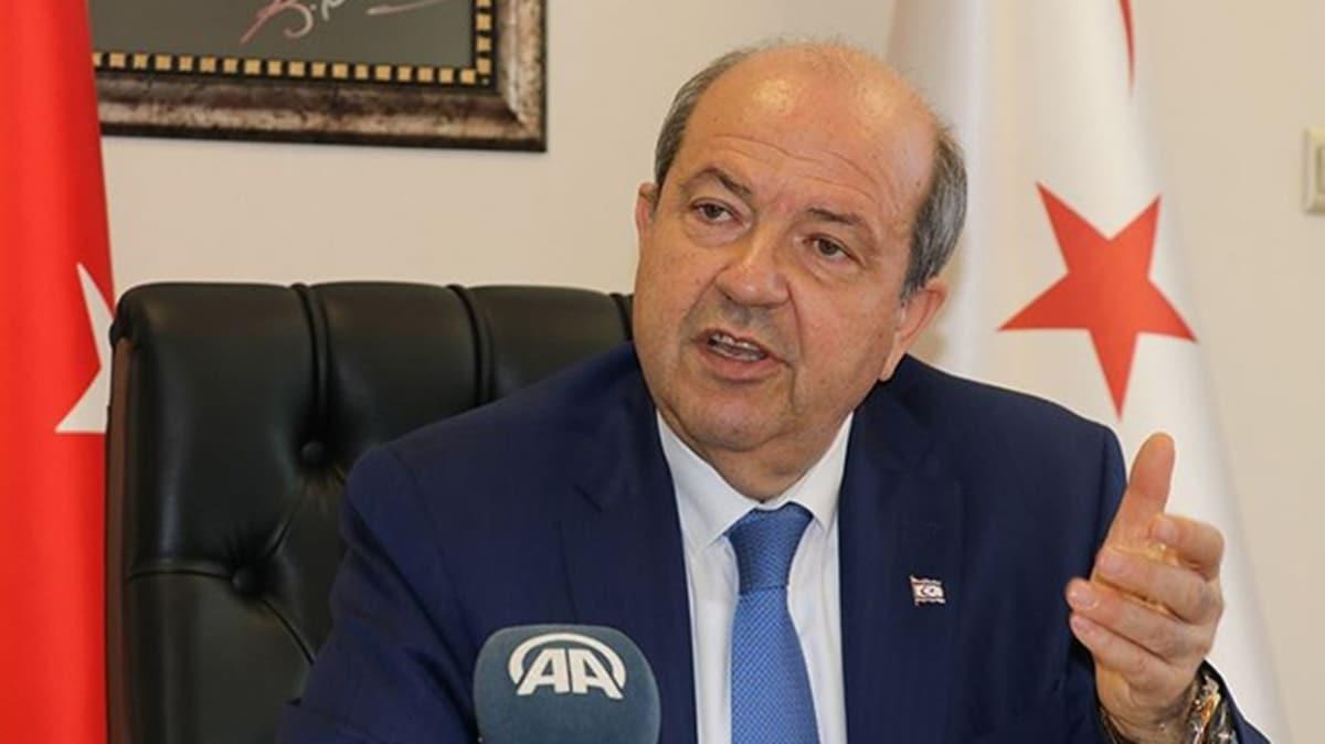 KKTC Başkanı Tatar: Ermenistan'la onu saldırıya teşvik edenler hayallerine ulaşamayacaktır