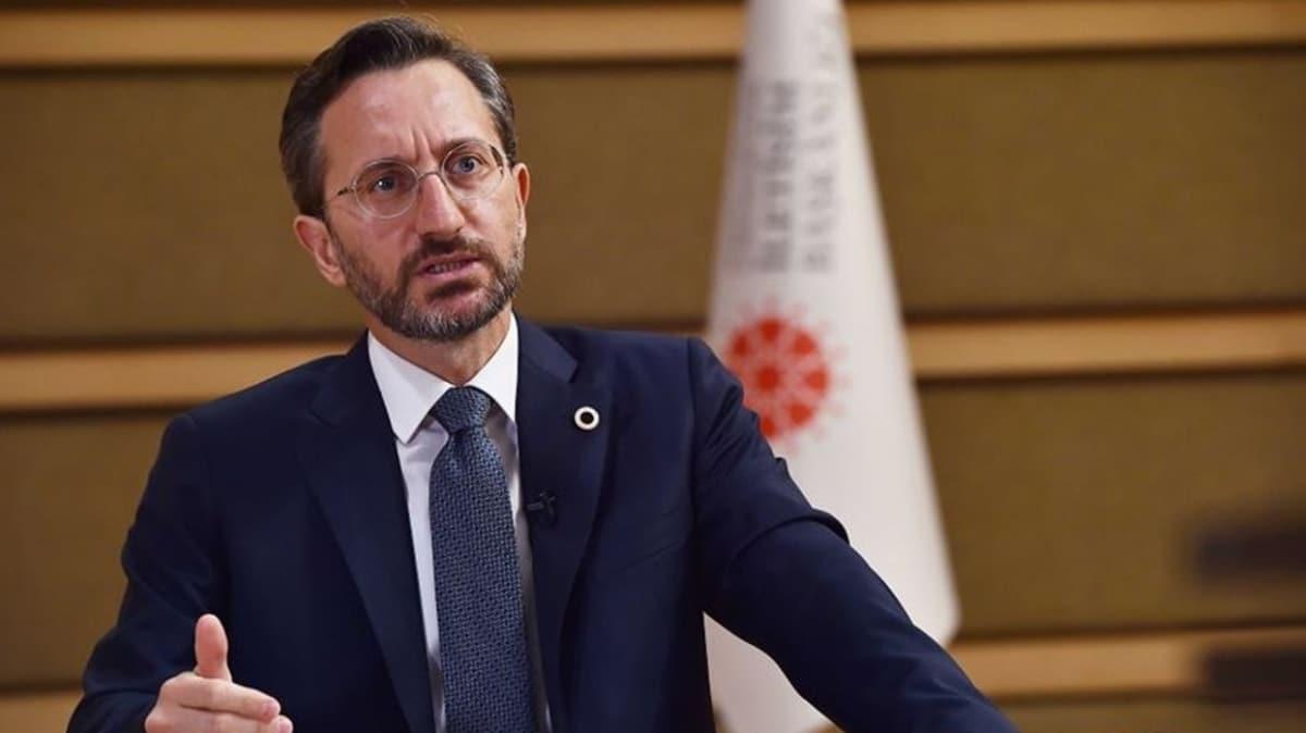 İletişim Başkanı Altun'dan uluslararası topluma Ermenistan tepkisi: Bunun gereğini yaparız