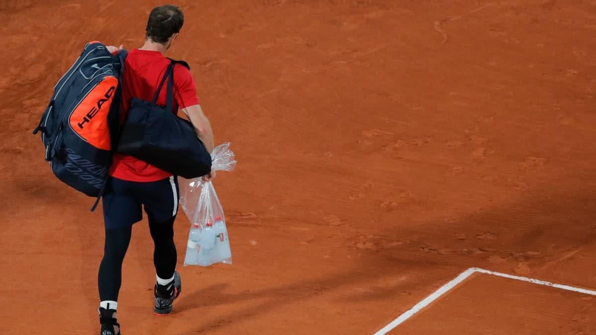 Andy Murray'den Fransa Açık'a erken veda