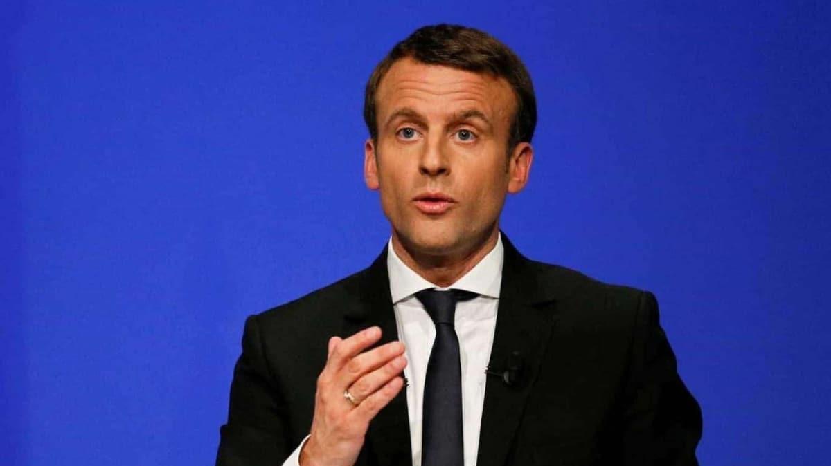 Fransa Cumhurbaşkanı Macron'dan Lukaşenko açıklaması: Görevinden istifa etmeli