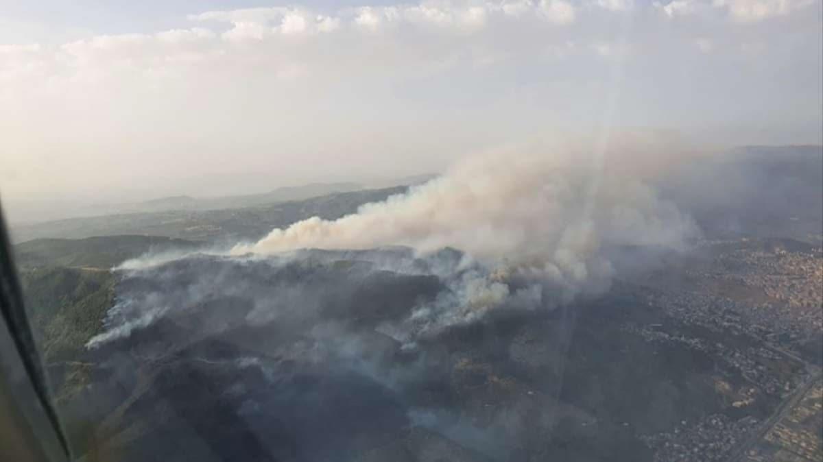 Bakan Pakdemirli duyurdu: Söke'deki orman yangını kontrol altına alındı