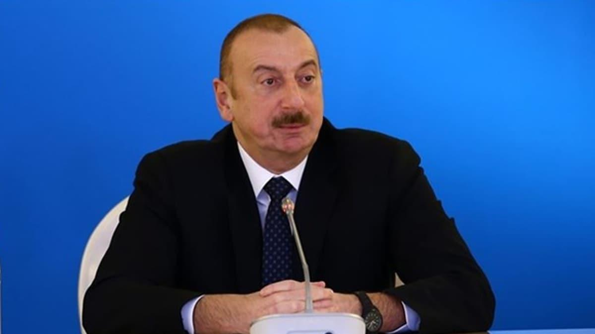 Azerbaycan Cumhurbaşkanı Aliyev: Ermenistan askeri araçlarını imha ettik