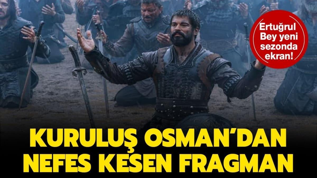 """Kuruluş Osman ne zaman başlayacak, tarih açıklandı mı"""" Ertuğrul Bey Kuruluş Osman'ın yeni sezonunda!"""