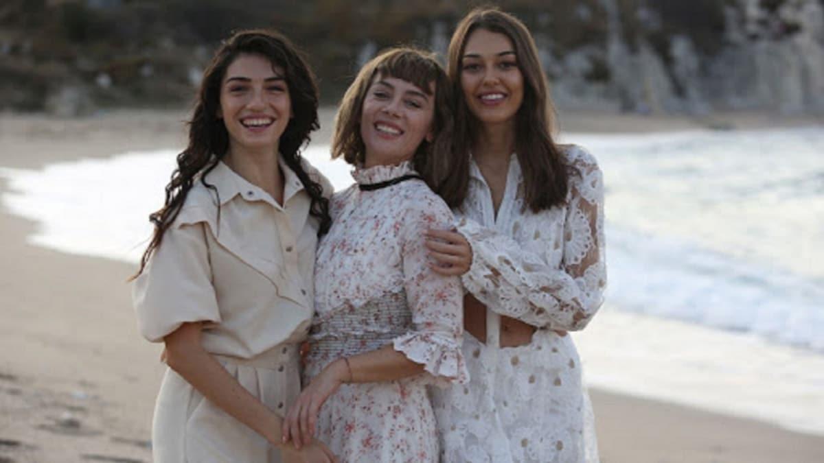 Demet Evgar, Hazar Ergüçlü ve Dilan Çiçek Deniz bir arada! Alev Alev dizisinden ilk fragman!
