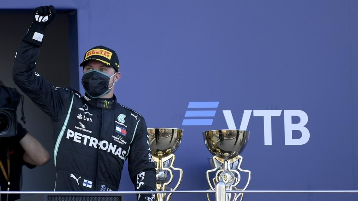Formula 1'in Rusya Grand Prix'sinde zafer Valtteri Bottas'ın