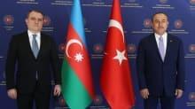 Bakan Çavuşoğlu, Ceyhun Bayramov ile görüştü