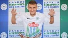 Çaykur Rizespor, Emir Dilaver ile 3 yıllık sözleşme imzaladı