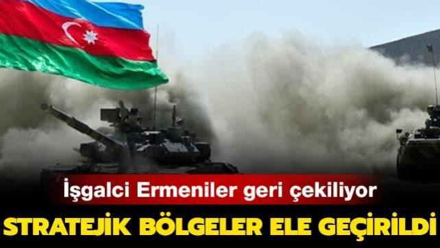 Azerbaycan Savunma Bakanlığı duyurdu: Ermeniler geri çekiliyor