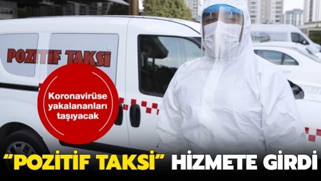 Adana'da Kovid-19 hastalarına 'Pozitif Taksi' ile özel taşıma hizmeti