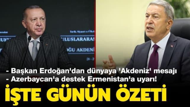 Başkan Erdoğan: Türkiye barıştan yanadır