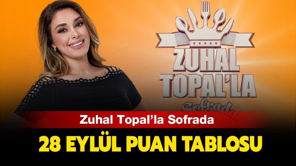 Zuhal Topal'la Sofrada 28 Eylül puan durumu