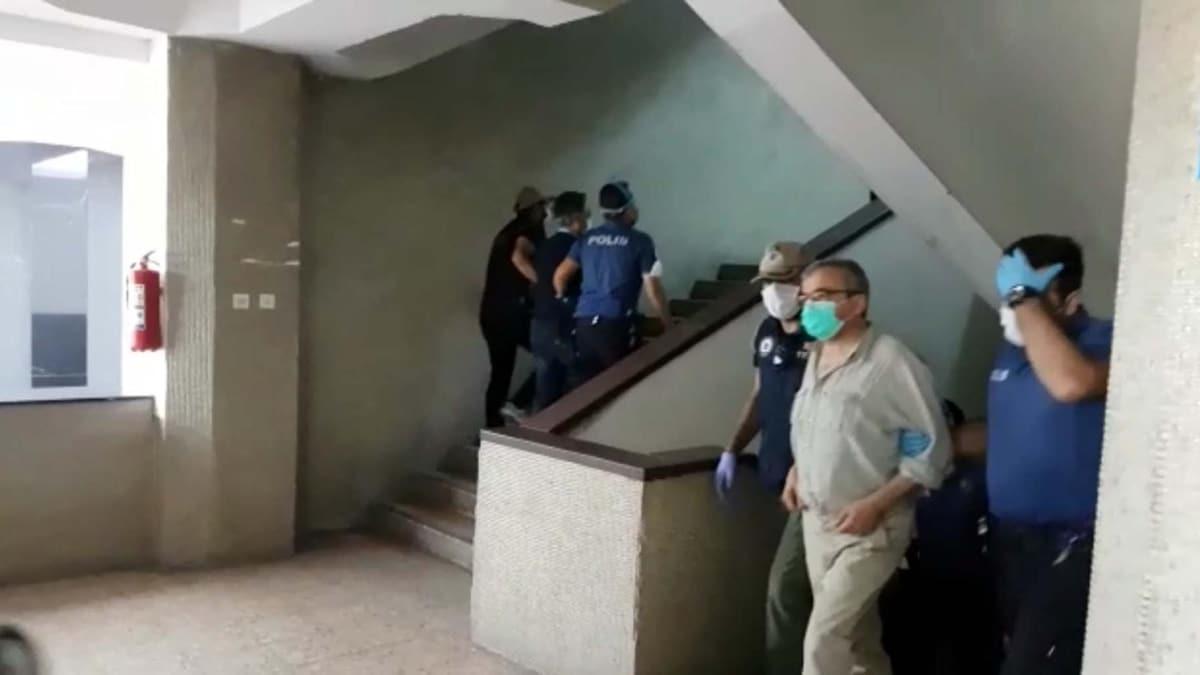 Kobani soruşturmasında gözaltına alınan HDP'liler Ankara Adliyesine getirildi