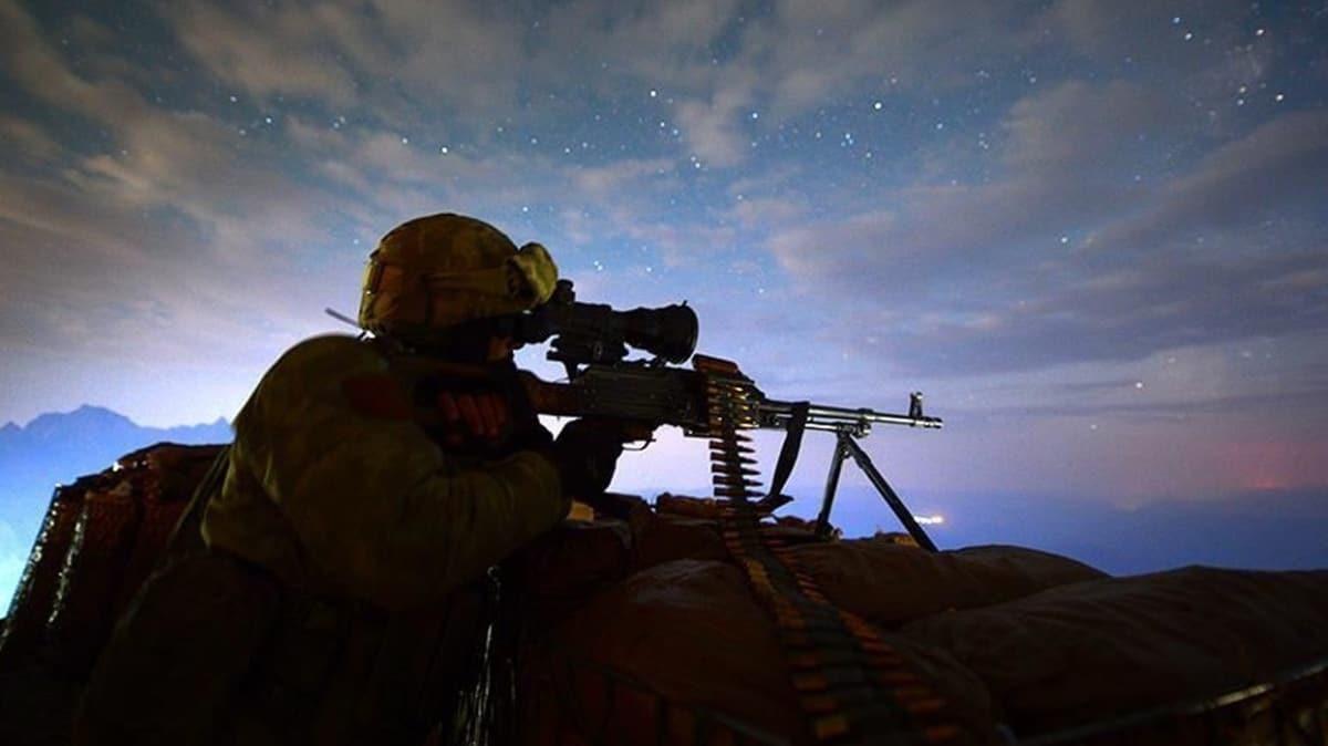 Yıldırım-11 Operasyonu kapsamında Siirt'te 4 PKK'lı terörist etkisiz hale getirildi
