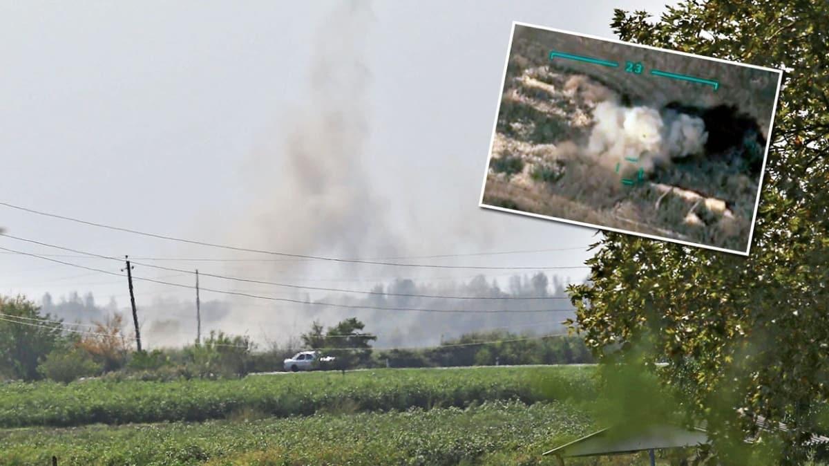 Sivil yerleşim yerleri vuruldu! Ermenistan sınırda savaş suçu işledi