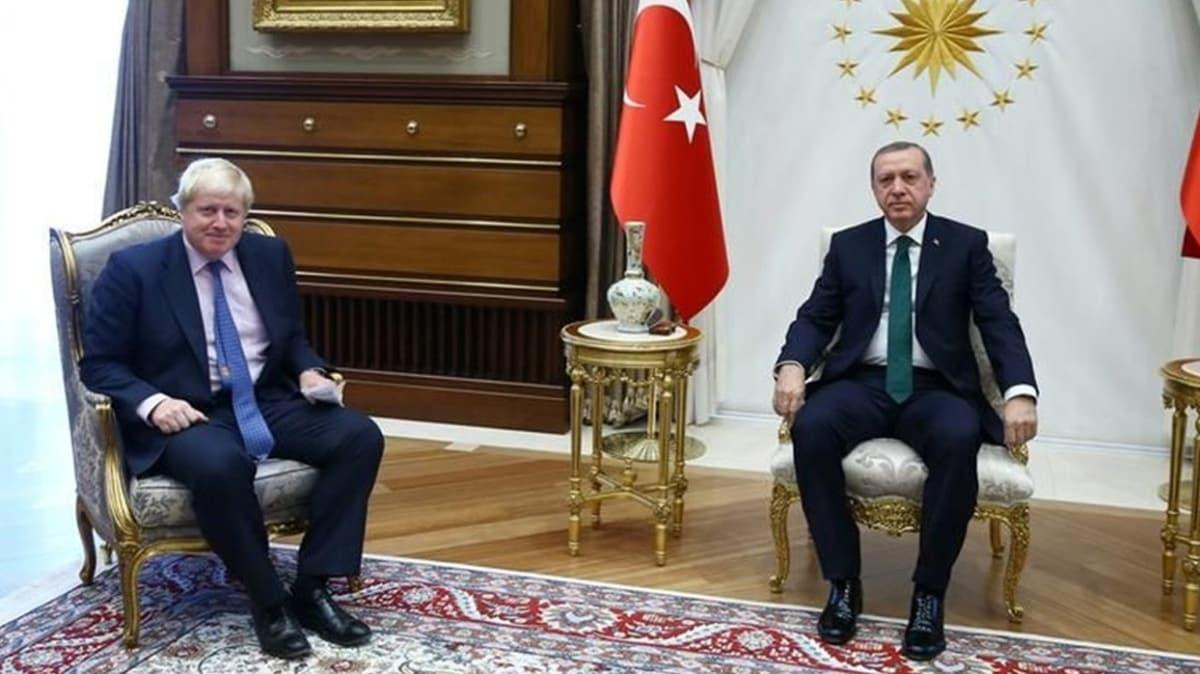 Başkan Erdoğan, Birleşik Krallık Başbakanı Johnson ile telefonda görüştü