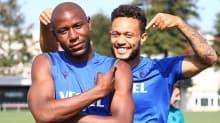 Trabzonspor'un yeni ikilisi: Afobe-Lewis Baker
