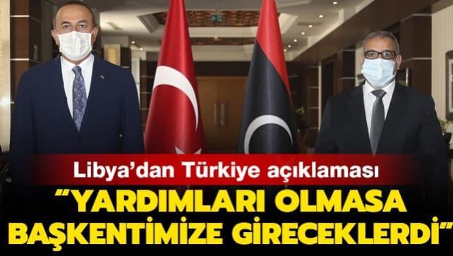 Libya'dan Türkiye açıklaması: Türkiye olmasaydı yabancı paralı askerler başkente girecekti