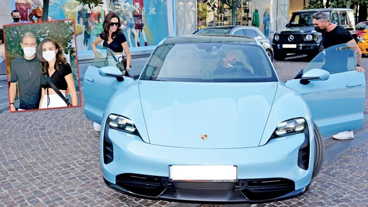 Şükran Ovalı ile Fenerbahçeli eşi Caner Erkin'den 2 milyonluk arabayla alışveriş!