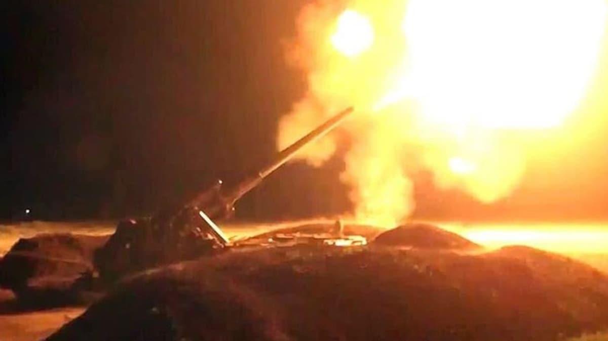 Azerbaycan ordusu ilerliyor... Hedef Fuzuli kenti