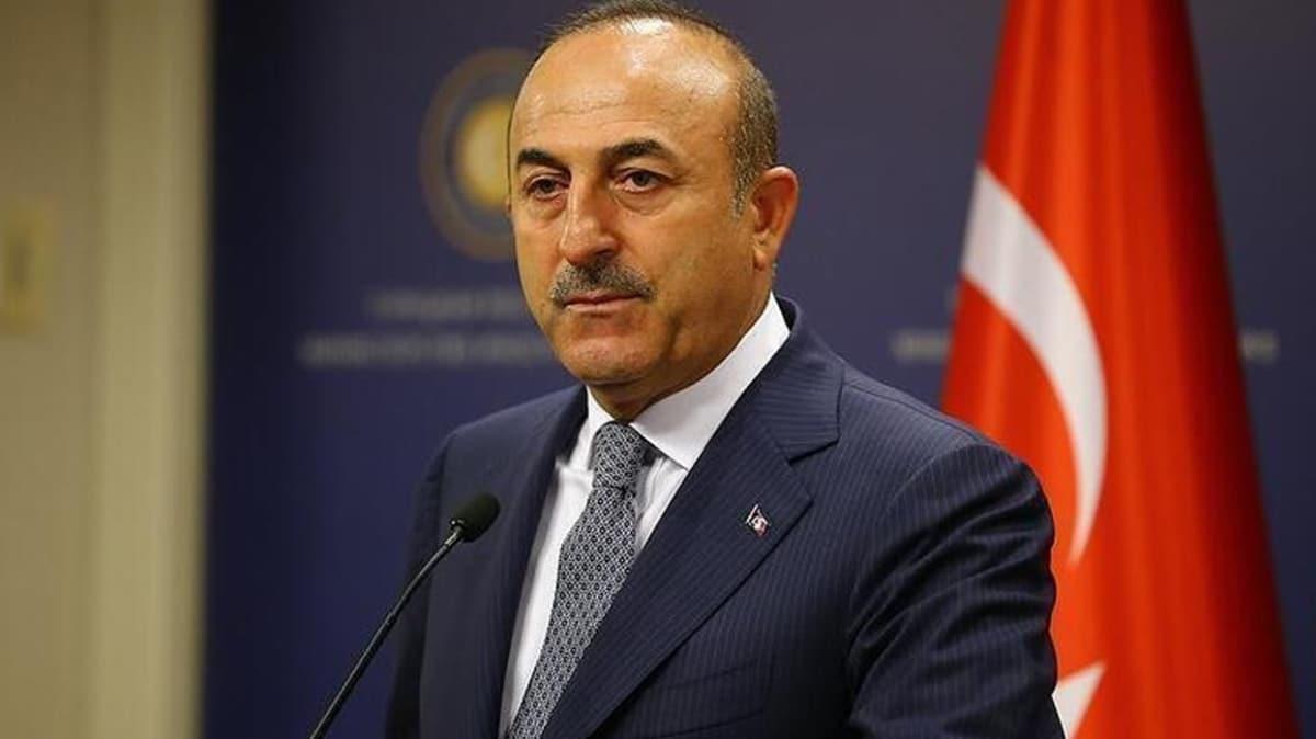 Bakan Çavuşoğlu: Sahada ve masada Azerbaycan'ın yanındayız