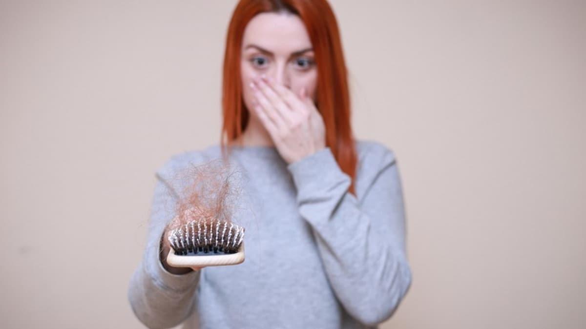Saç dökülmesine iyi gelen besinler