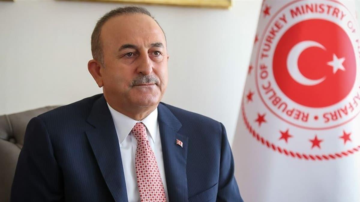 Çavuşoğlu, Azerbaycan Dışişleri Bakanı Ceyhun Bayramov'la görüştü