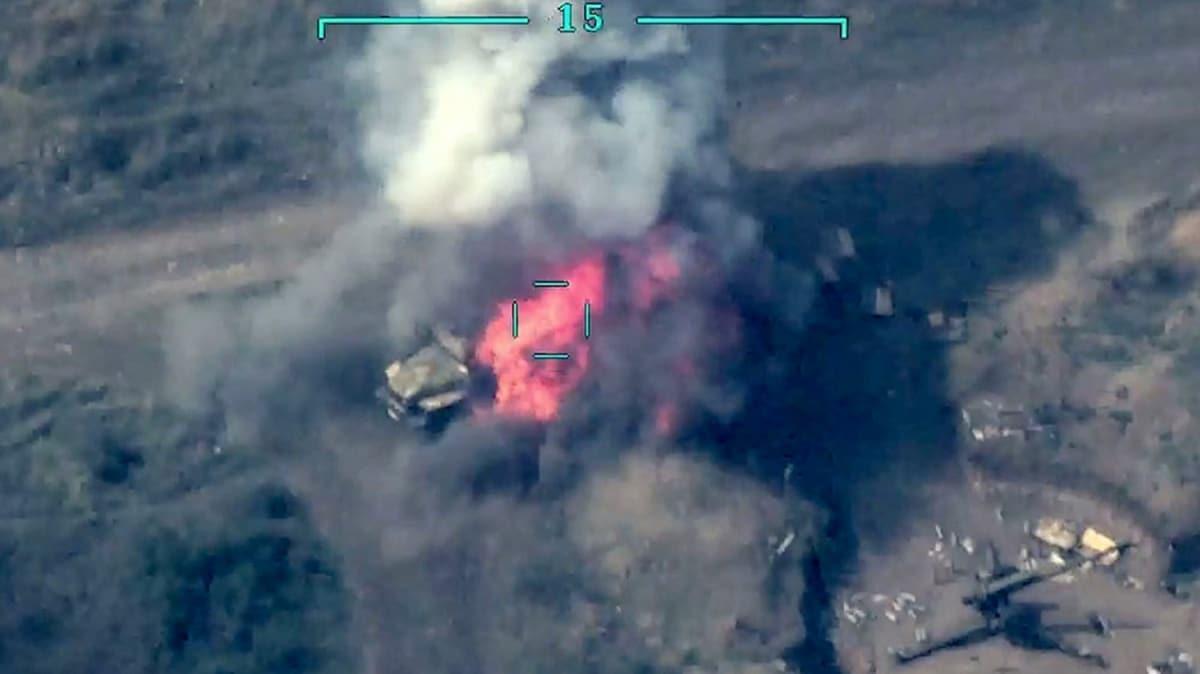 Azerbaycan ordusu, Ermenistan ordusunun 3. Martuni motorlu piyade alayını darmadağın ettiğini duyurdu