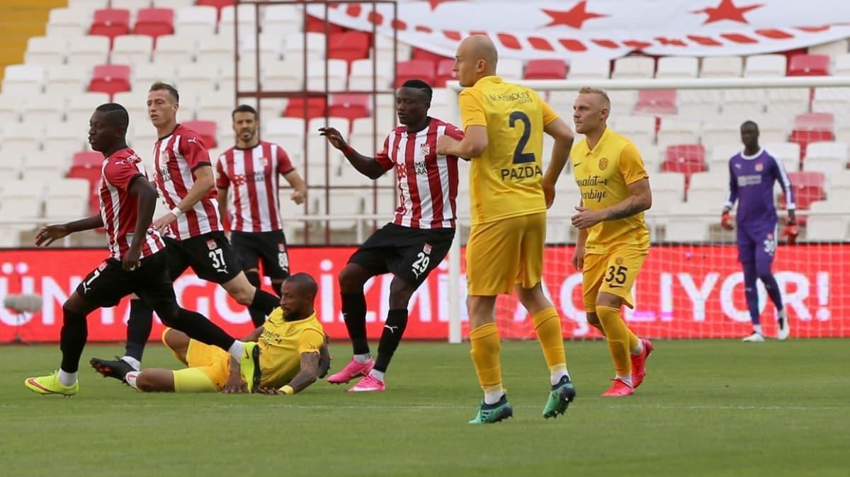 Sivasspor'un sahasındaki gol orucu sürüyor