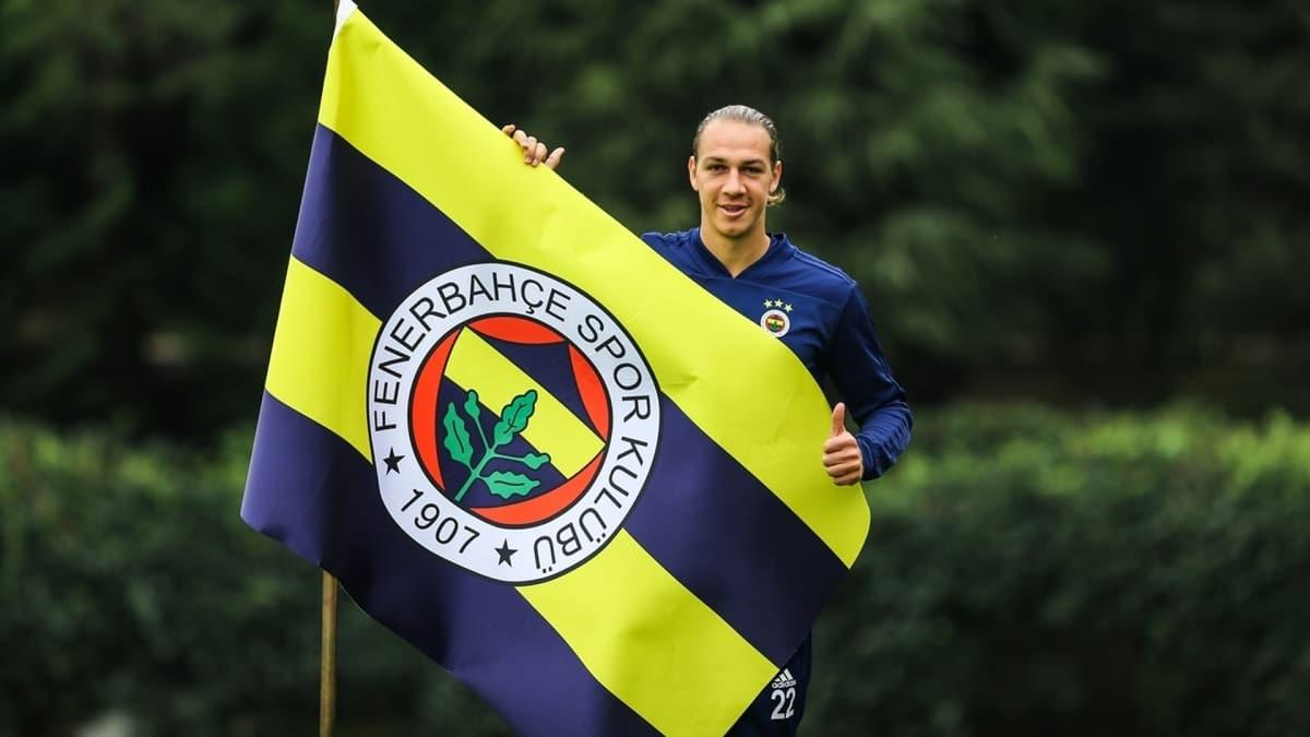 Michael Frey, Fenerbahçe'den ayrıldı