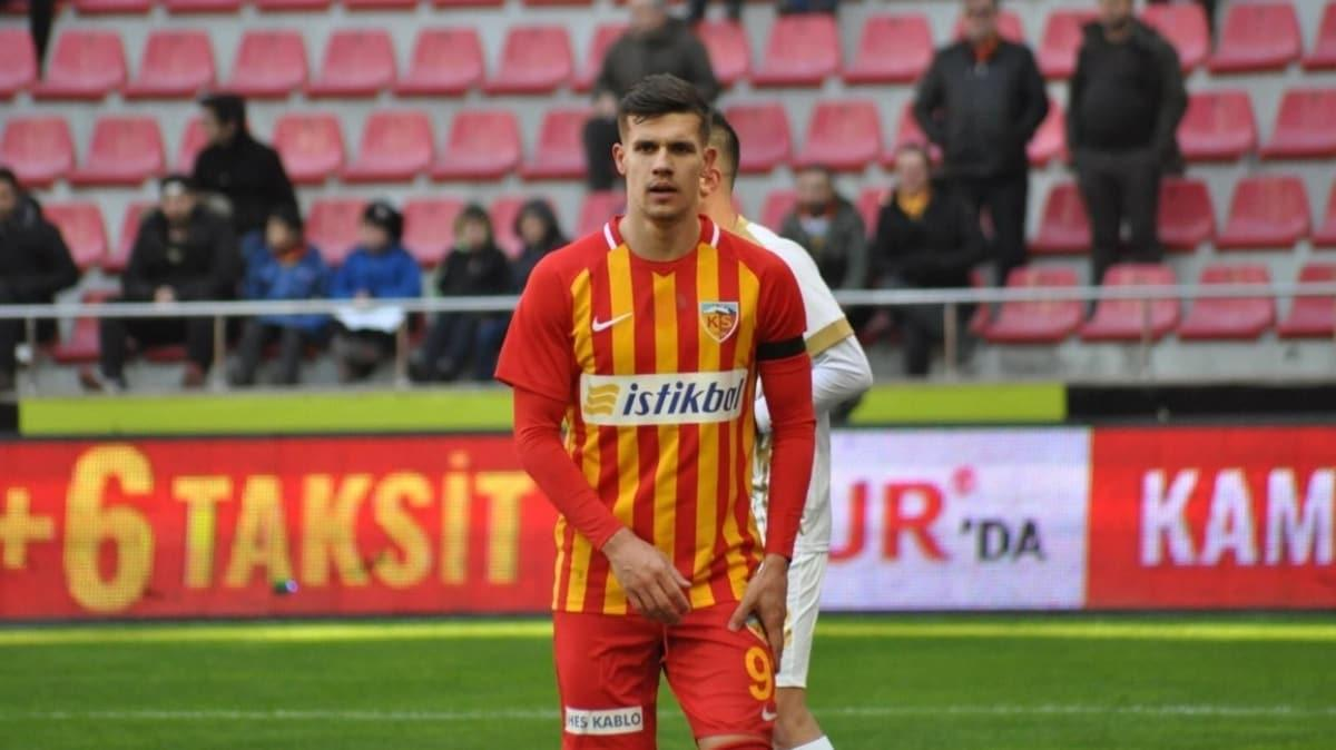 Kayserispor'da Mairo Situm'un sözleşmesi feshedildi
