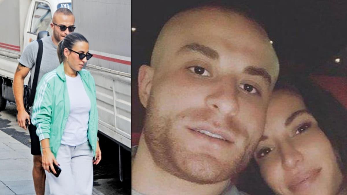 Beşiktaşlı futbolcu Gökhan Töre ve hamile eşi Buket Töre Bebek'te turladılar