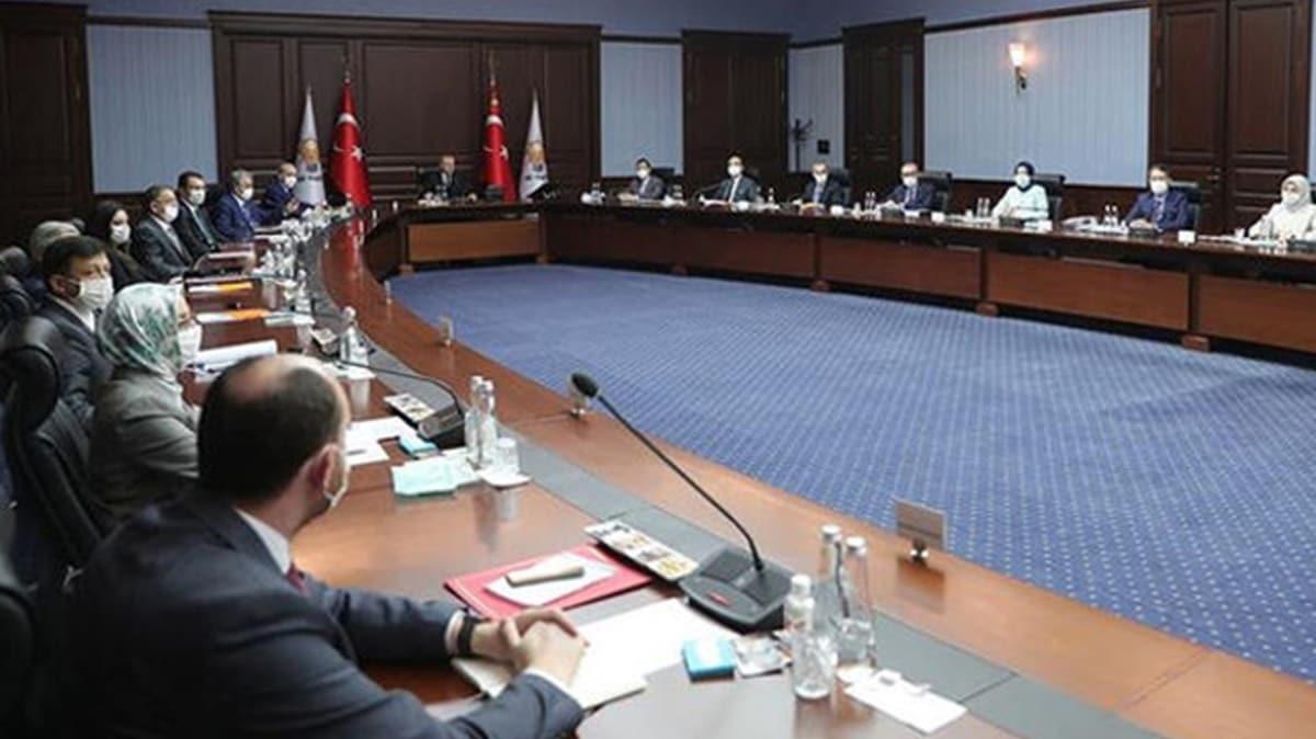AK Parti MYK Başkan Erdoğan başkanlığında toplandı