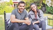 Yeni Hayat'ın Adem'i Serkan Çayoğlu ve Yasemin'i Melisa Aslı Pamuk'dan hayranları için poz