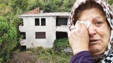 17 senedir harabe evin önünde ağlıyor