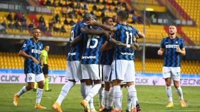 Inter'den Benevento'ya karşı 5 gollü galibiyet