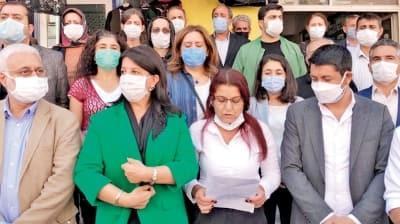 HDP'li vekillerden polise hakaret