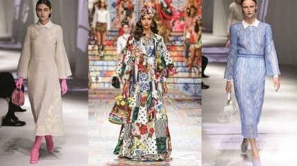 Milano Moda Haftası'nda öne çıkan tasarımlar