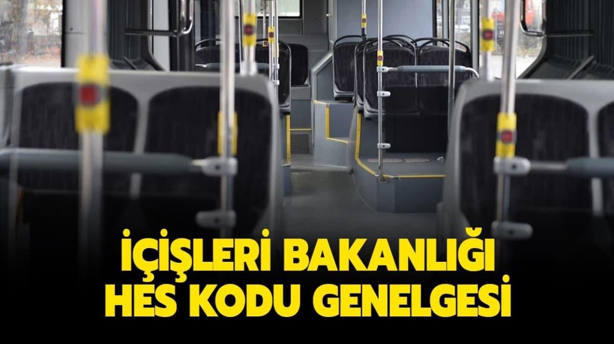 """Otobüste, metroda, metrobüste HES kodu zorunlu mu"""" Şehir içi toplu ulaşım araçlarında HES kodu gerekli mi"""""""
